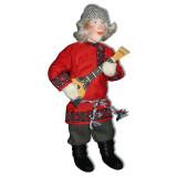 Doll handmade copyright Galina Maslennikova A2-6 Ivan with Balalaika