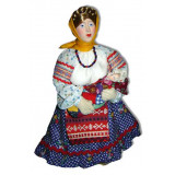 Doll handmade copyright Galina Maslennikova D9-1 Peasant woman with...