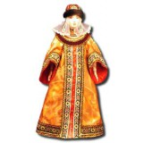 Doll handmade big n the national costume (ar2)