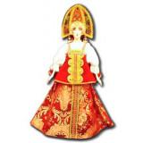 Doll handmade big n the national costume (ar3a)
