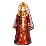 Doll handmade big n the national costume (ar1a)
