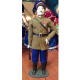 Doll handmade average The Cossack in the grey