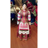 Doll handmade average The wife of the Cossack