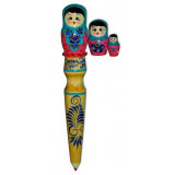 Pencil souvenir Matreshka doll 3 pcs