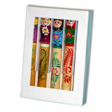 Pencil souvenir Pencil a set 5 piece in a box