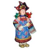 Doll handmade copyright Galina Maslennikova SKMD Russian skomorokh...