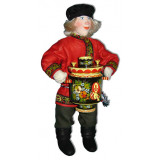 Doll handmade copyright Galina Maslennikova A2-13 Boy with a samovar