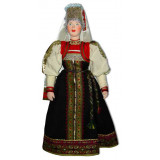Doll handmade copyright Galina Maslennikova A1-17-1 Pskov area