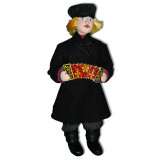 Doll handmade copyright Galina Maslennikova A2-18 Boy  in armayk