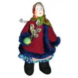Doll handmade copyright Galina Maslennikova A2-22-2 Girl with...