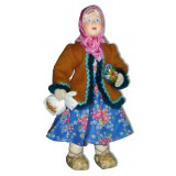 Doll handmade copyright Galina Maslennikova A2-22-2 Easter Girl