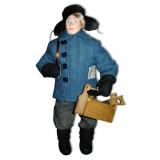 Doll handmade copyright Galina Maslennikova A2-21-6 Workman