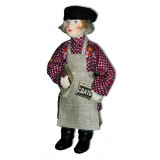 Doll handmade copyright Galina Maslennikova A2-23-3 Boy with a...