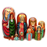 Nesting doll 10 pcs. Religion