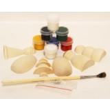Creativity kit Winter, a set for creativity (magnets, paints, a...