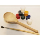 Creativity kit Spoon, a set for creativity (Spoon, paints, a brush...