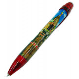 Pen 464-19-R souvenir Moscow. St. Basil Cathedral red