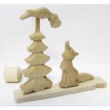 Bogorodskaya toy The Crow and the Fox