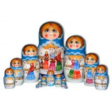 Nesting doll 15 pcs. Ferry Tales
