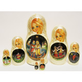 Nesting doll 7 pcs. King Saltan