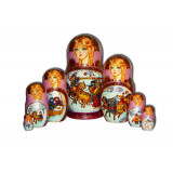Nesting doll 7 pcs. Blizzard