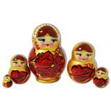 Nesting doll 5 pcs. Khohloma V