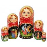 Nesting doll 5 pcs. 7914