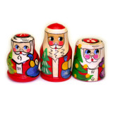 New Year and Christmas thimble Santa Claus