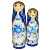 Nesting doll Case for bottle Gzghel 0.1 litr