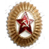 Badge The officer of armed forces of the Russian Federation