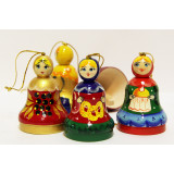 New Year and Christmas christmas tree toy Bell matreshka