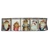 New Year and Christmas christmas tree toy set of Christmas toys 5 pcs.