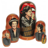 Nesting doll popular singers Rolling Stones