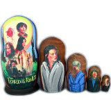 Nesting doll movie stars Lord of the Rings