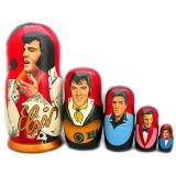 Nesting doll popular singers Elvis