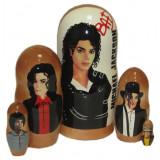 Nesting doll popular singers Michael Jackson