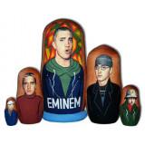 Nesting doll popular singers Eminem