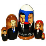Nesting doll political leaders Putin & Medvedev
