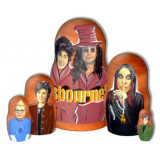 "Nesting doll popular singers Ozborn""s Family"