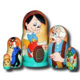 Nesting doll Disney Pinoccio