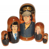 Nesting doll popular singers ACDC