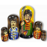 Nesting doll popular singers Beatles