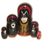 Nesting doll popular singers Kiss