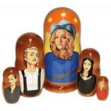 Nesting doll popular singers Madonna