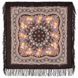 Pavlovo Posad Shawl Pavlovo Posad with wool fringe 89 x 89 1195-17...