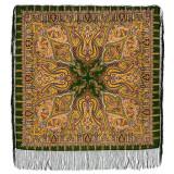 Pavlovo Posad Shawl Pavlovo Posad with silk fringe 89 x 89 1155-10...