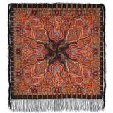 Pavlovo Posad Shawl Pavlovo Posad with silk fringe 89 x 89 1155-18...