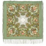 Pavlovo Posad Shawl Pavlovo Posad with silk fringe 89 x 89 1549-3...