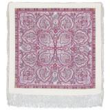 Pavlovo Posad Shawl Pavlovoposadskij with wool fringe 89 x 89 529-7...