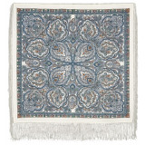 Pavlovo Posad Shawl Pavlovoposadskij with wool fringe 89 x 89 529-5...